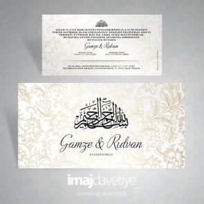 Mehrsprachige Turkische Einladungskarten Hochzeitskarten