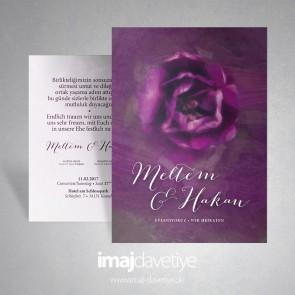 Morgül / Lila Rose düğün davetiye 026