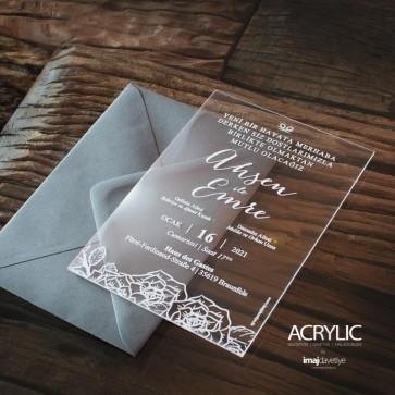 Acrylglas Einladung Ahsen 01