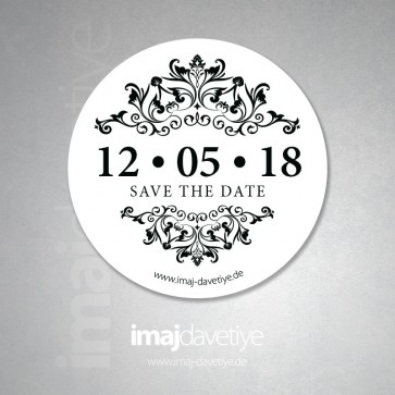 Save the Date Stiker 24