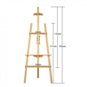 Holz Staffelei Standstaffelei